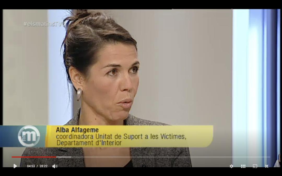 Dia Internacional de l'Eliminació de la Violència Contra la Dona. Els Matins de TV3